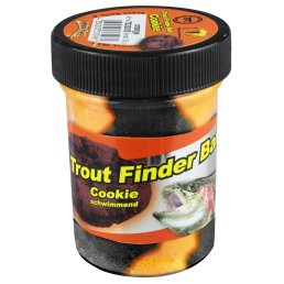 Trout Finder Bait Forellenteig Glitter Cookie schwarz /...