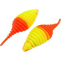 Omura Baits Pongo Junior Knoblauch neon gelb/neon orange